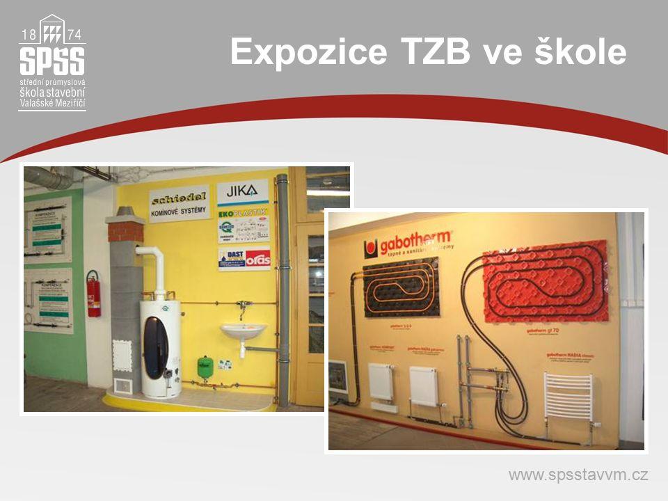 Expozice TZB ve škole www.spsstavvm.cz