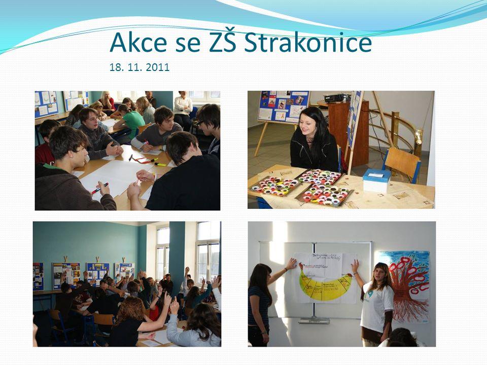 Akce se ZŠ Strakonice 18. 11. 2011