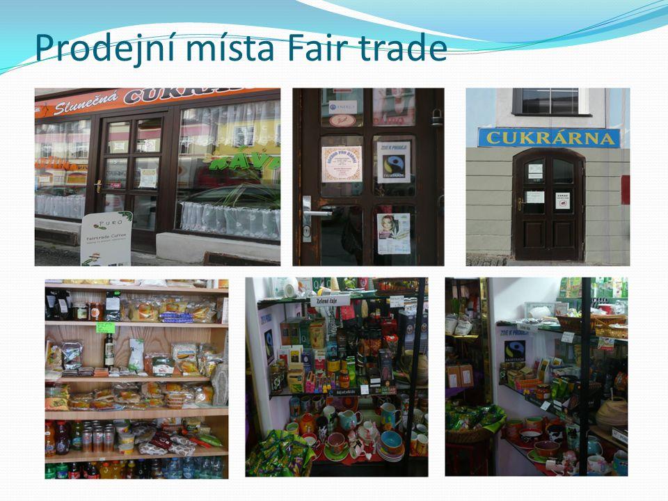 Prodejní místa Fair trade