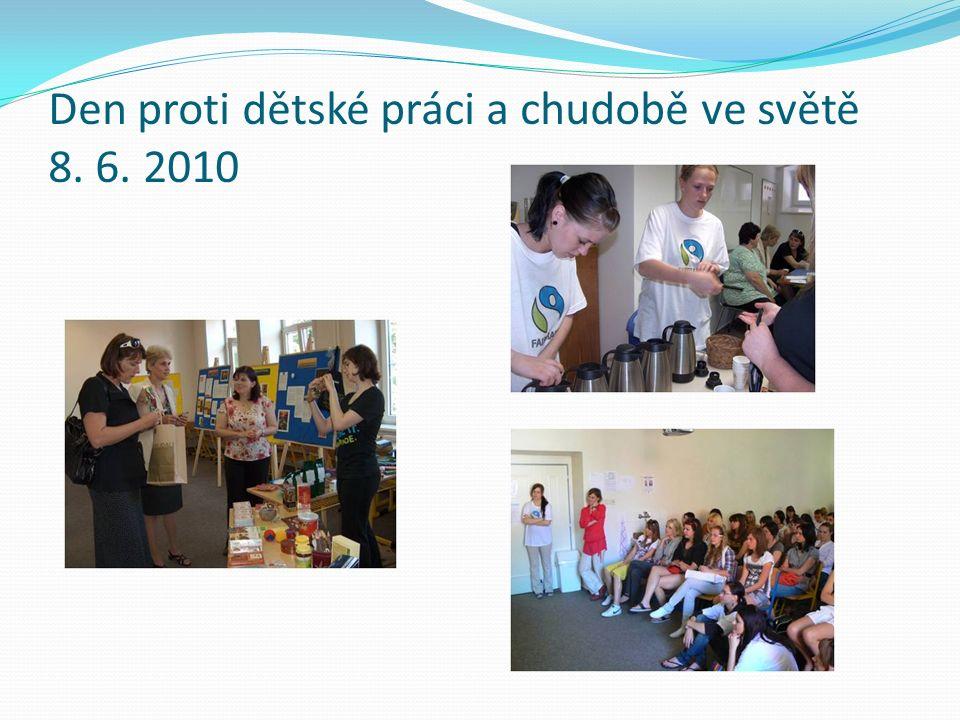 Den proti dětské práci a chudobě ve světě 8. 6. 2010