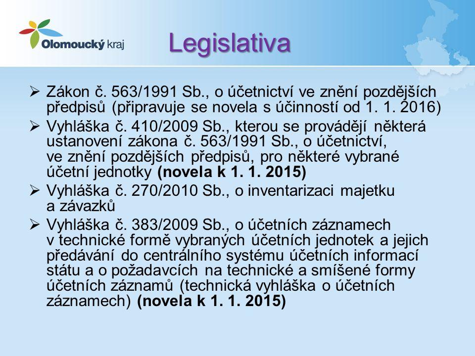 Úpravy v legislativě Web OK – Účetnictví ÚSC - Informace ke konsolidaci – Konsolidační vyhláška státu, Konsolidační manuál