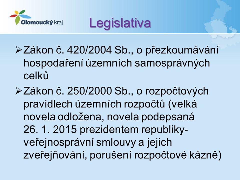 Úpravy v legislativě  Účet 575 –Náklady vybraných ústředních vládních institucí na předfinancování transferů – nově – týká se OSS  Účet 675 – Výnosy vybraných ústředních vládních institucí z předfinancování transferů – nově – týká se OSS