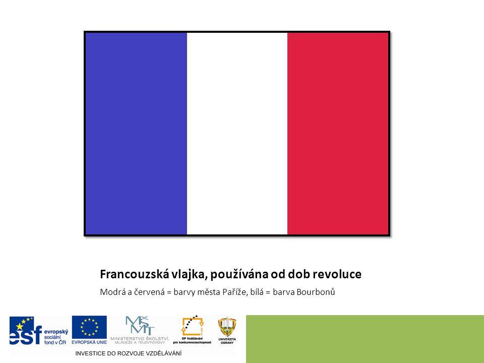Revoluční Francie (1789 až 1799) I po porážce krále legislativní činnost Národního shromáždění: – Deklarace práv člověka a občana (26.