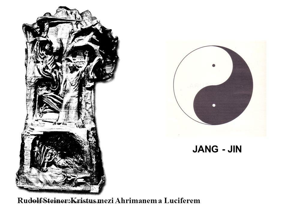 Rudolf Steiner:Kristus mezi Ahrimanem a Luciferem JANG - JIN