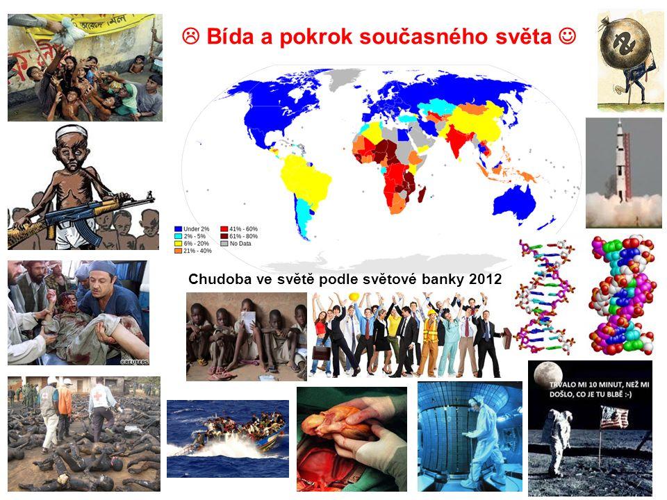 Chudoba ve světě podle světové banky 2012  Bída a pokrok současného světa