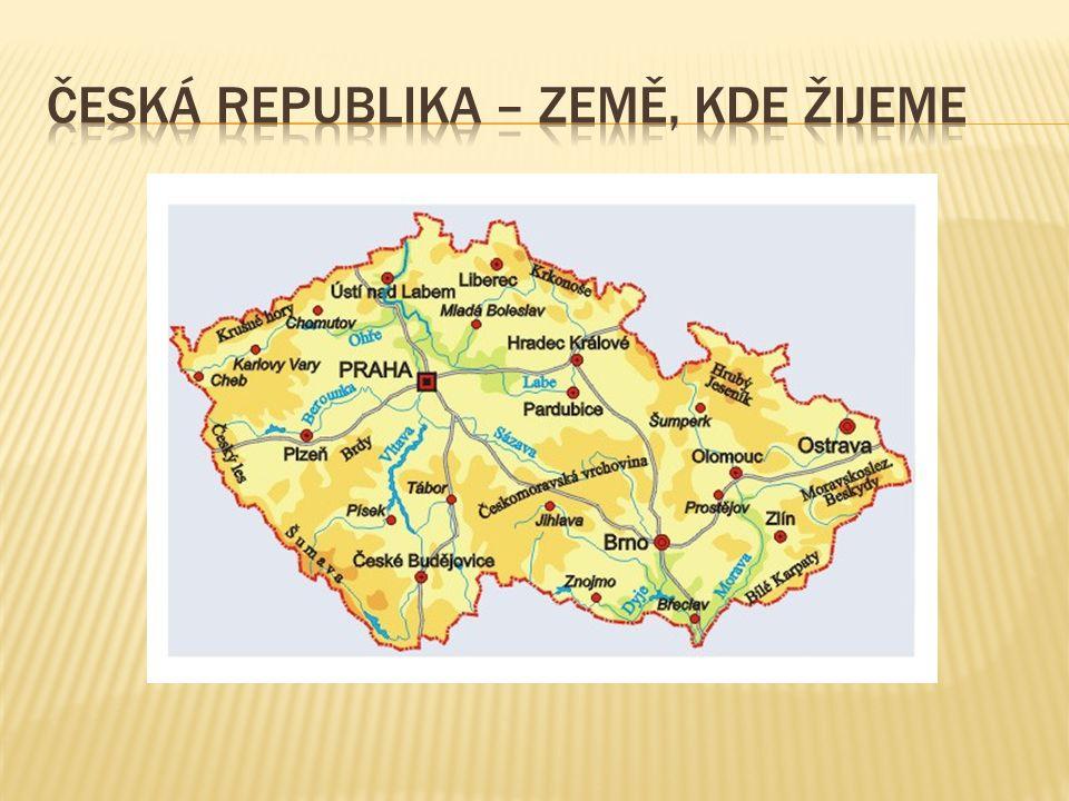  ČR se dělí na 14 krajů – umíš pojmenovat?