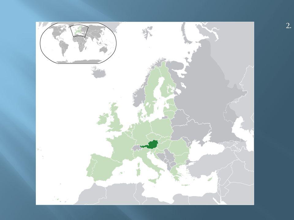  Rakousko je vnitrozemská federativní republika ležící ve střední Evropě.