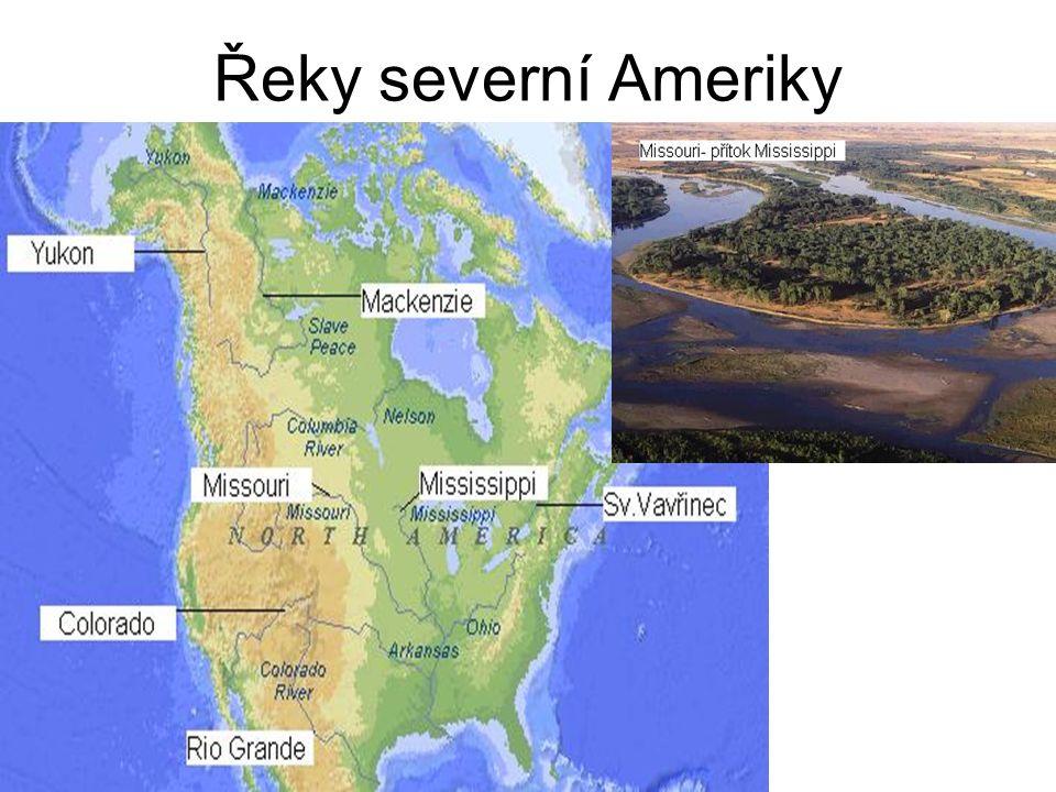 Řeky severní Ameriky