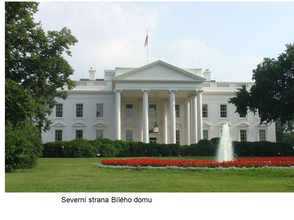 Severní strana Bílého domu