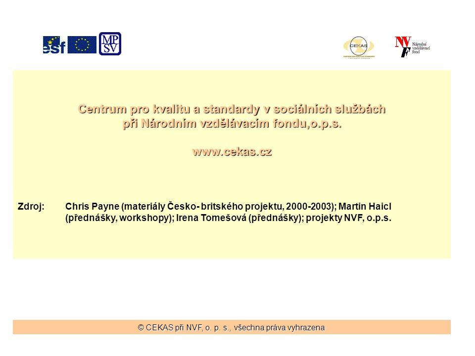 Centrum pro kvalitu a standardy v sociálních službách při Národním vzdělávacím fondu,o.p.s.