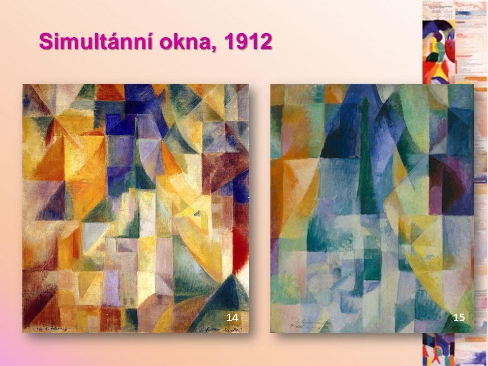 Simultánní okna, 1912 14 15
