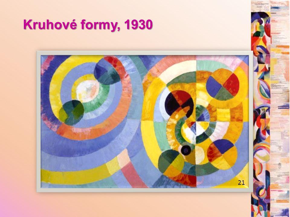Kruhové formy, 1930 21