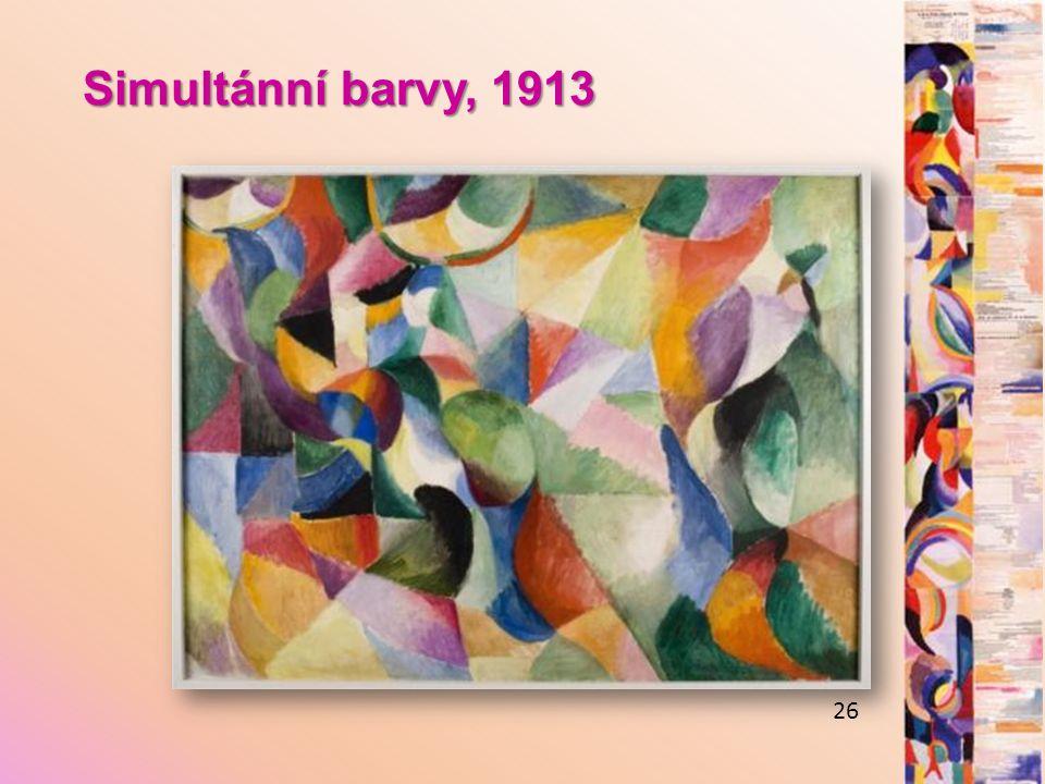 Simultánní barvy, 1913 26