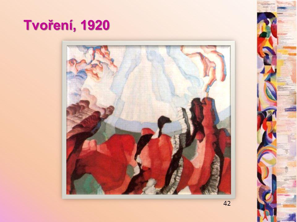 Tvoření, 1920 42