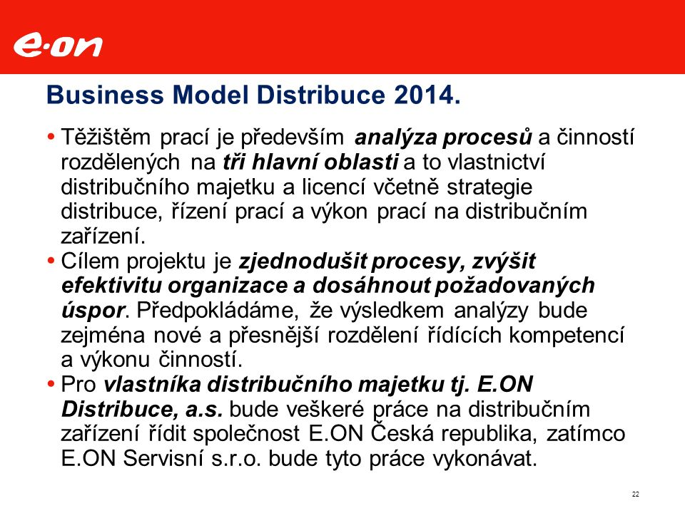 22 Business Model Distribuce 2014.