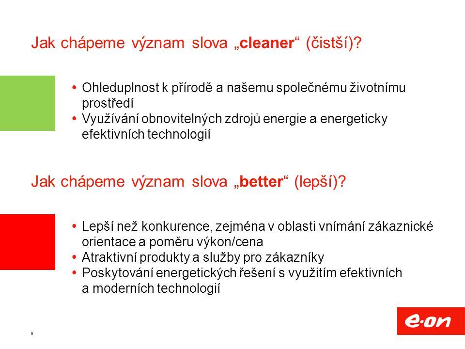 """9 Jak chápeme význam slova """"cleaner (čistší)."""