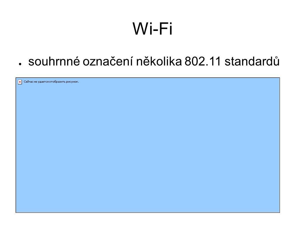 ● souhrnné označení několika 802.11 standardů