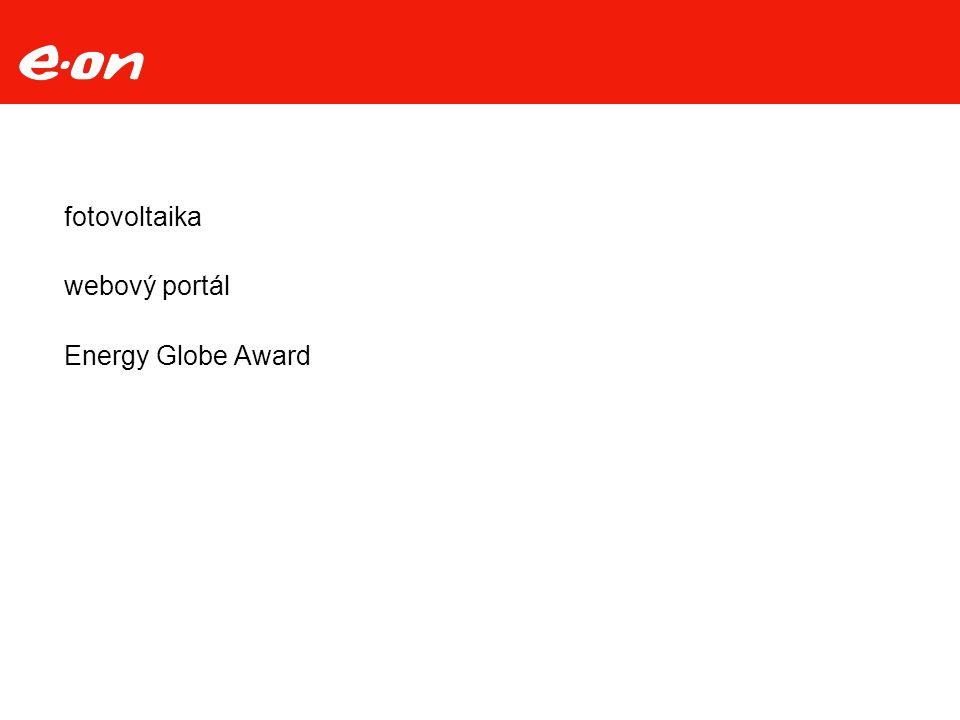 fotovoltaika webový portál Energy Globe Award