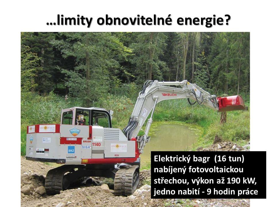 …limity obnovitelné energie.