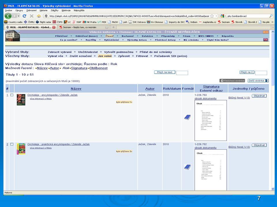 58 MDT Tabulky MDT http://www.udcc.org http://cz.udc-hub.com/cs/login.php  MDT t voří nedílnou součást záznamů věcných autorit  Povinný údaj v rámci kooperativní tvorby věcných národních autorit http://www.nkp.cz