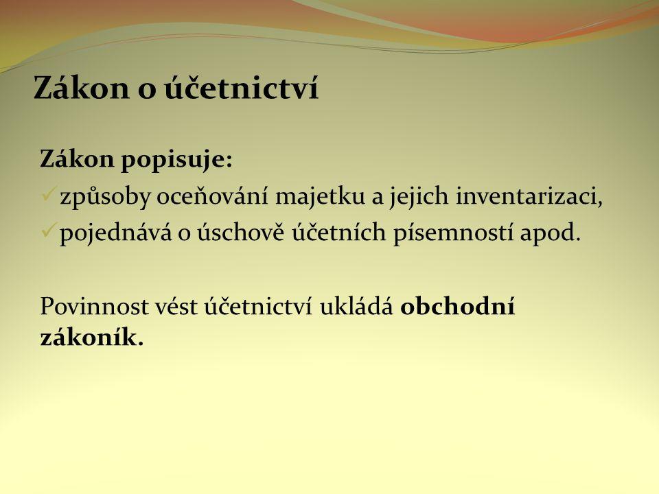 Samostatná práce 1.Definujte účetnictví 2.Jaké obecné činnosti zahrnuje účetnictví 3.Uveďte a charakterizujte funkce účetnictví