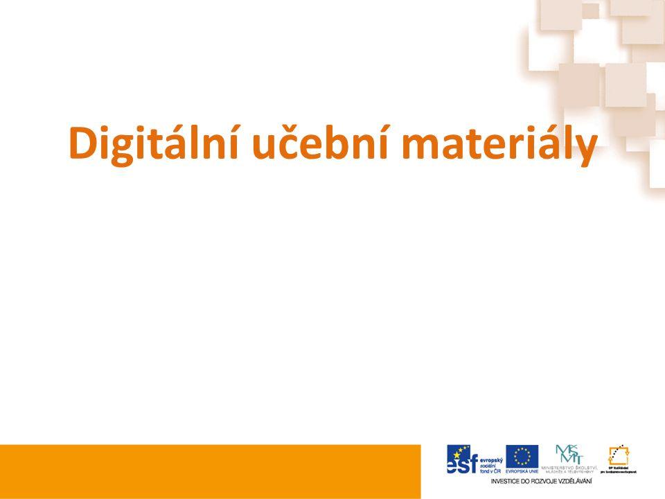 Digitální učební materiály