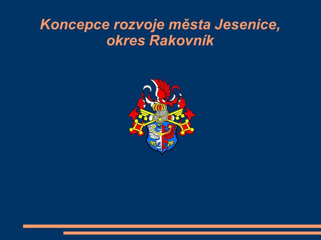 Koncepce rozvoje města Jesenice, okres Rakovník