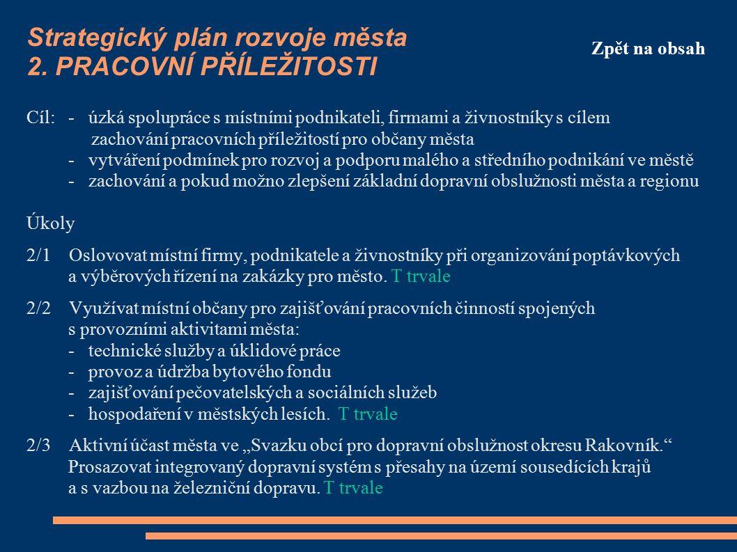 Strategický plán rozvoje města 2.