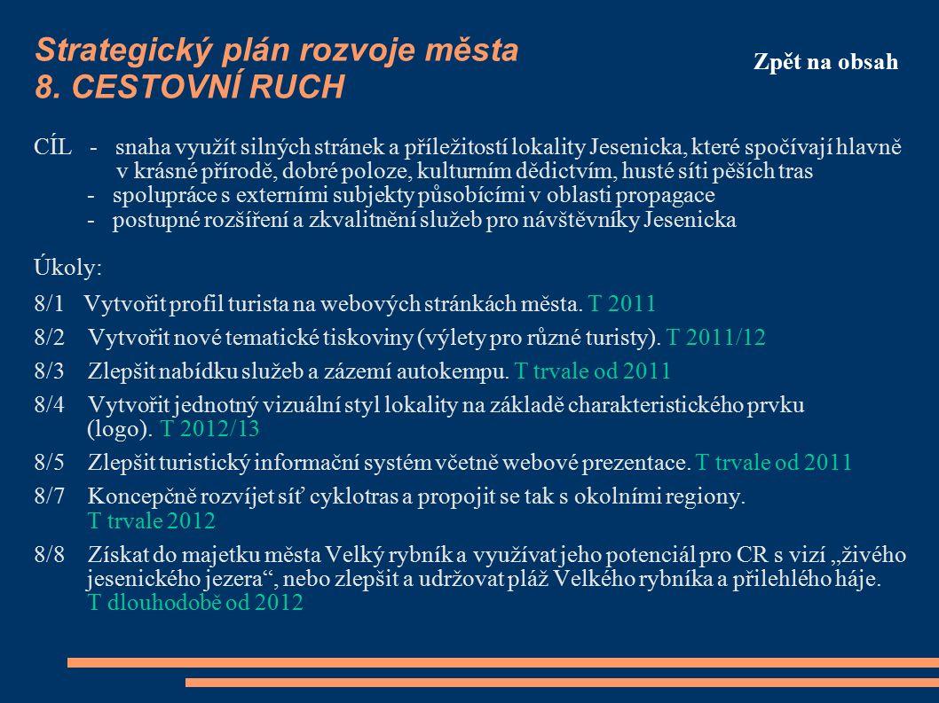 Strategický plán rozvoje města 8.