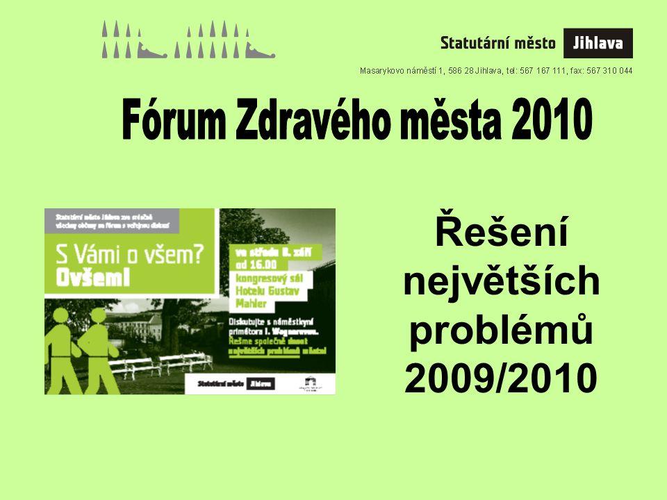 Řešení největších problémů 2009/2010