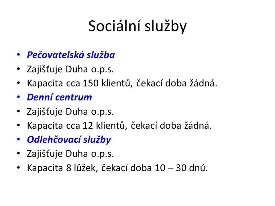 Sociální služby Pečovatelská služba Zajišťuje Duha o.p.s.