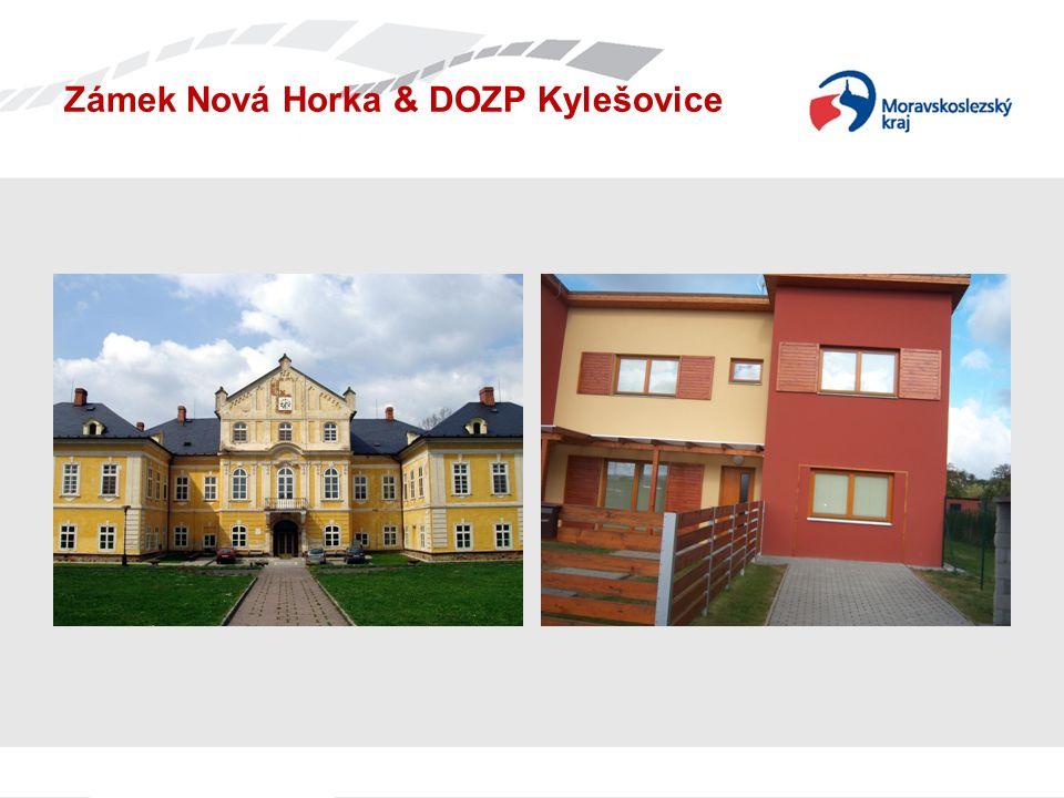 Zámek Nová Horka & DOZP Kylešovice