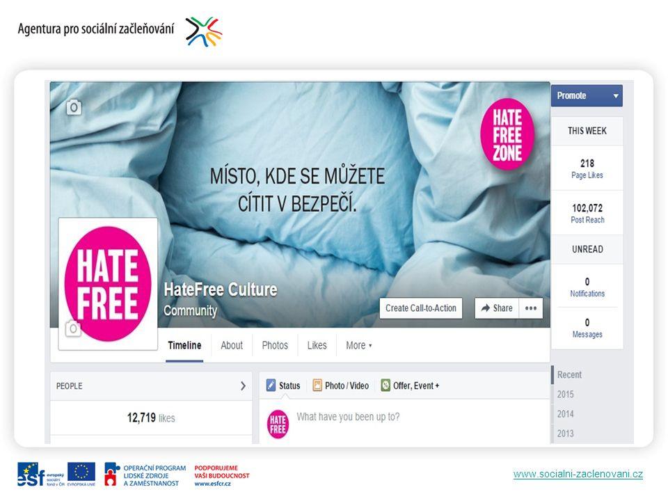 www.socialni-zaclenovani.cz Komunita