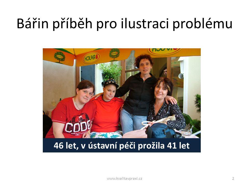 Tímto tempem DOZP skončí za 29 let www.kvalitavpraxi.cz13