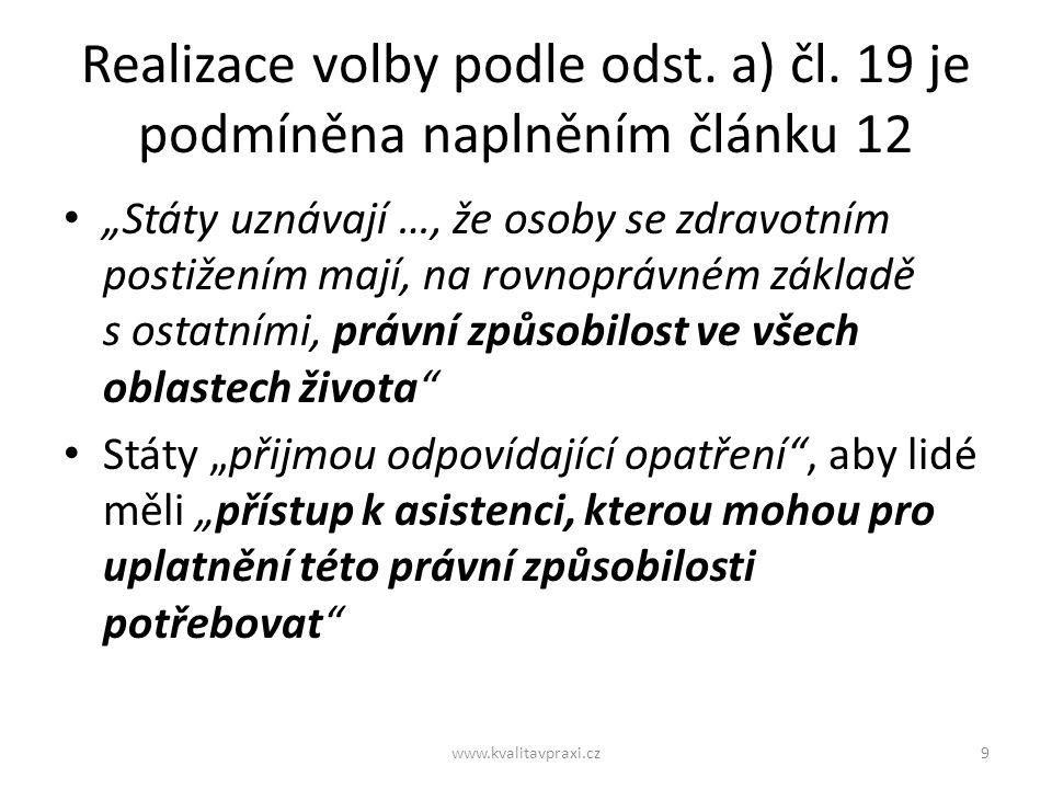 Transformační projekty v ČR: 95 lidí se rozhodlo odejít z ústavu Co ovlivnilo volbu nového místa pro jejich život.