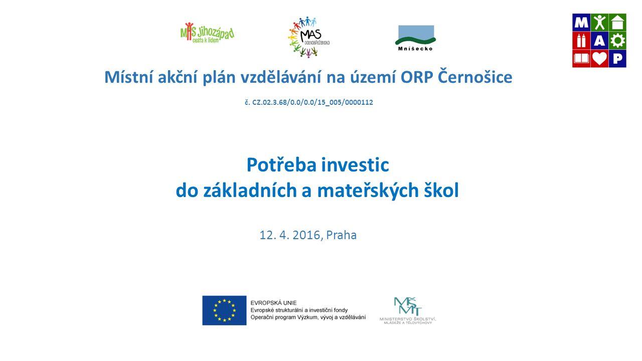 Místní akční plán vzdělávání na území ORP Černošice č.