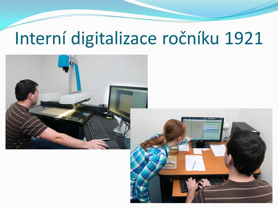 Interní digitalizace ročníku 1921