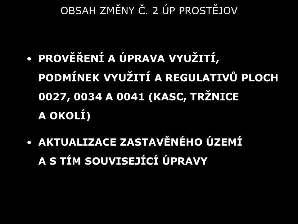 OBSAH ZMĚNY Č.