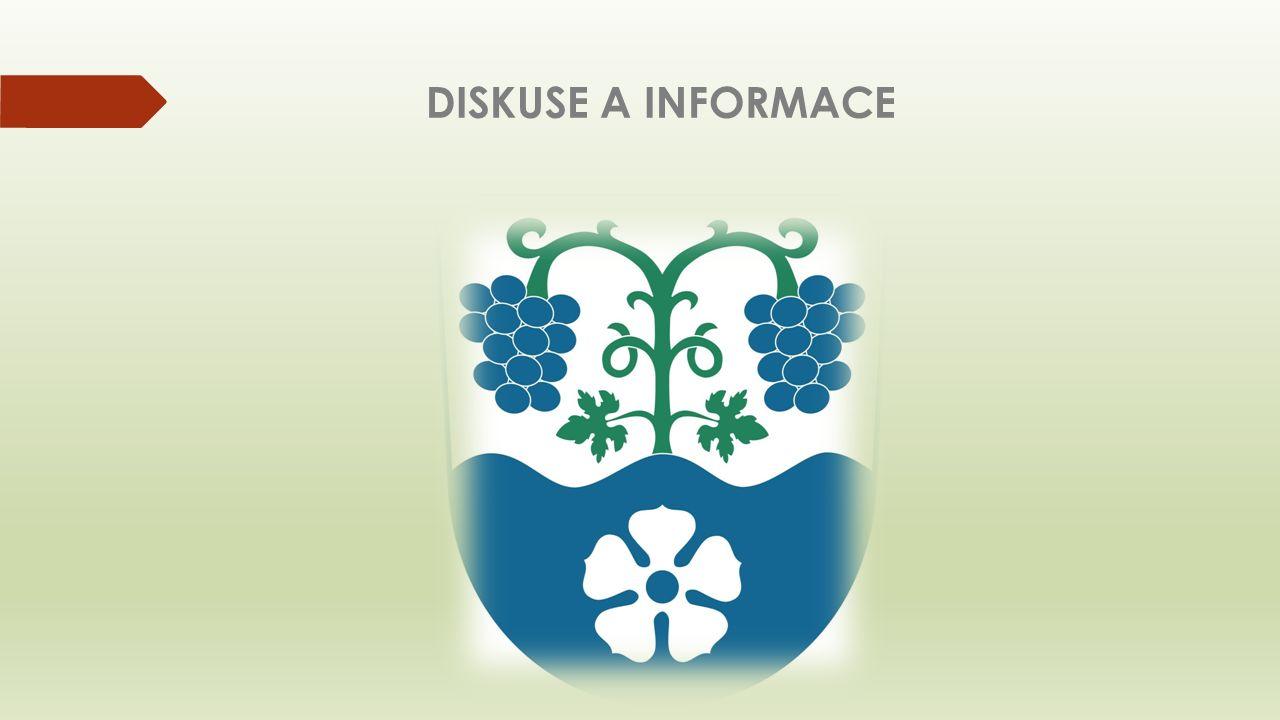 DISKUSE A INFORMACE