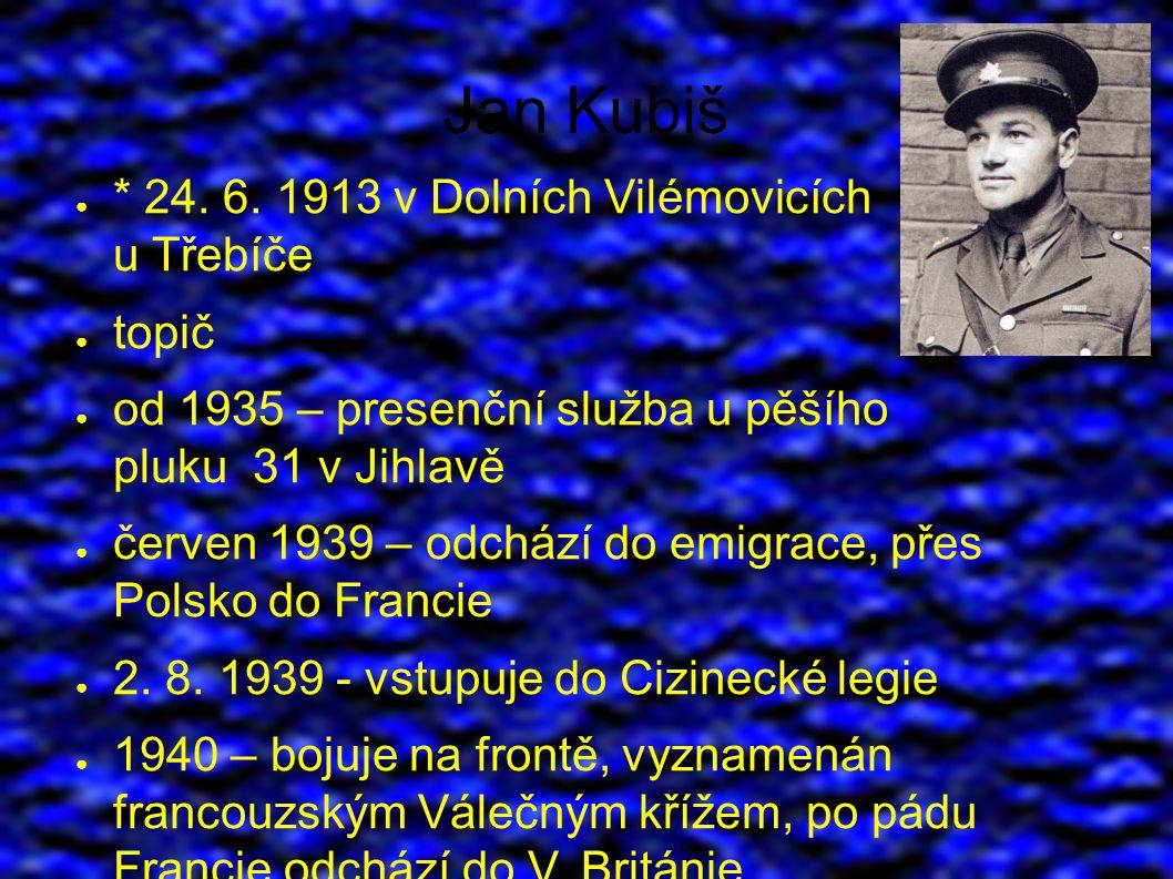 Jan Kubiš ● * 24. 6.