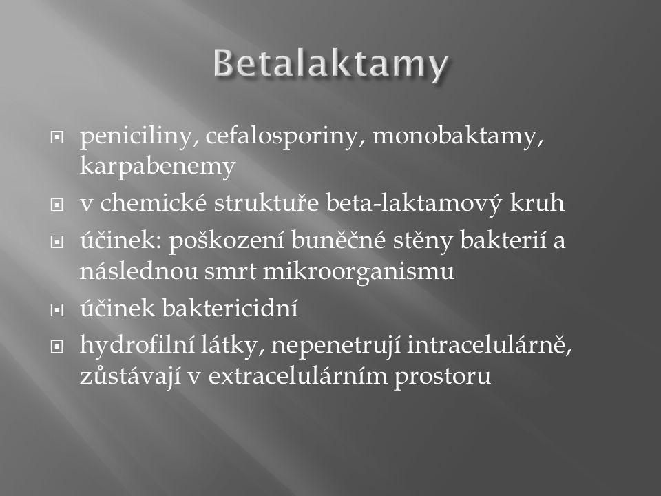  rozdělení: - I.generace: nefluorované (k. nalidixová, k.
