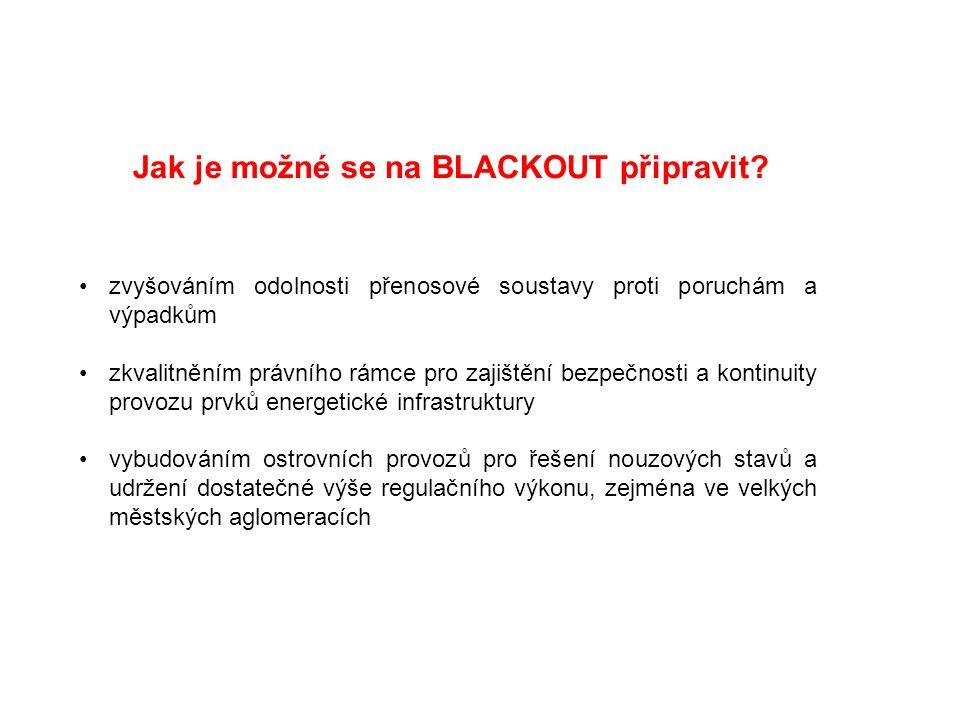 Jaké je tedy řešení déletrvajícího výpadku elektrické energie v hl.