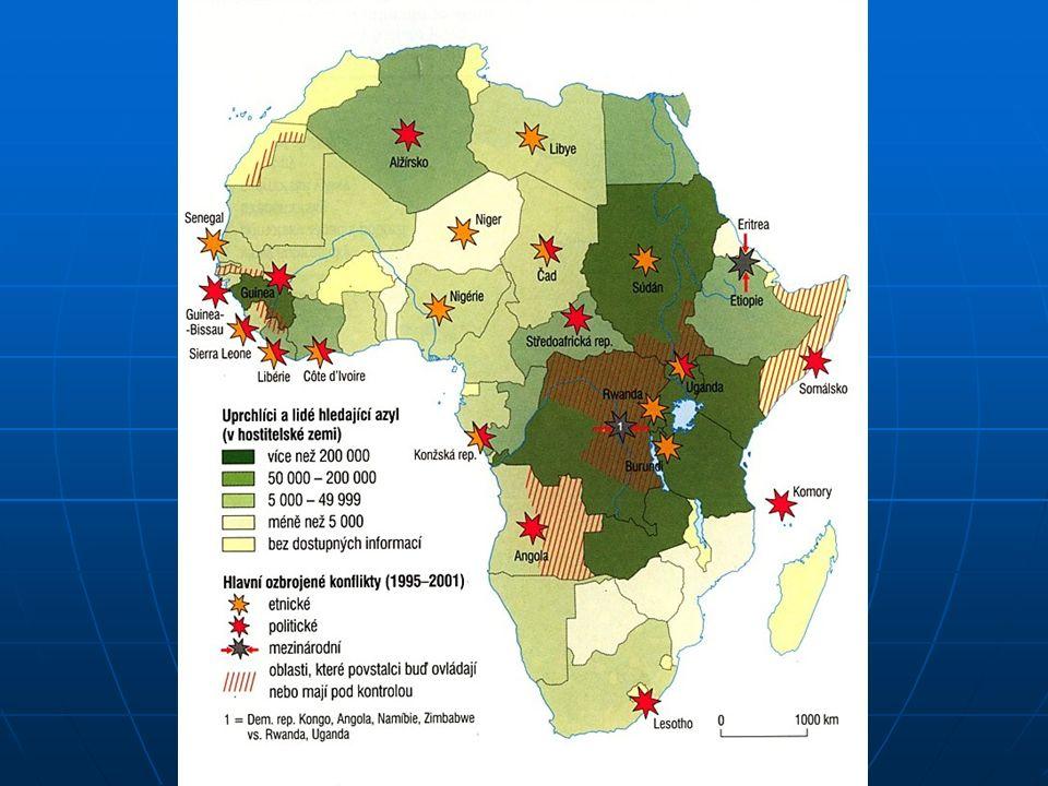 Vytvoření politických organizací – Liga arabských států, Organizace africké jednoty resp.