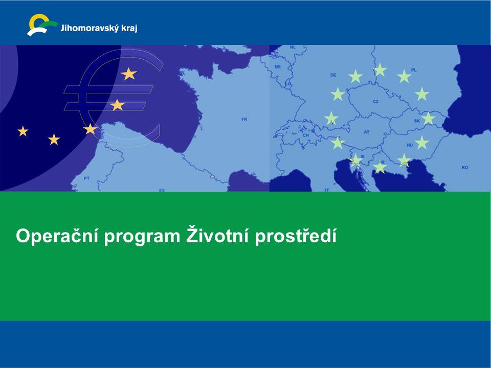 Finanční rámec OPŽP 2,6 mld. €