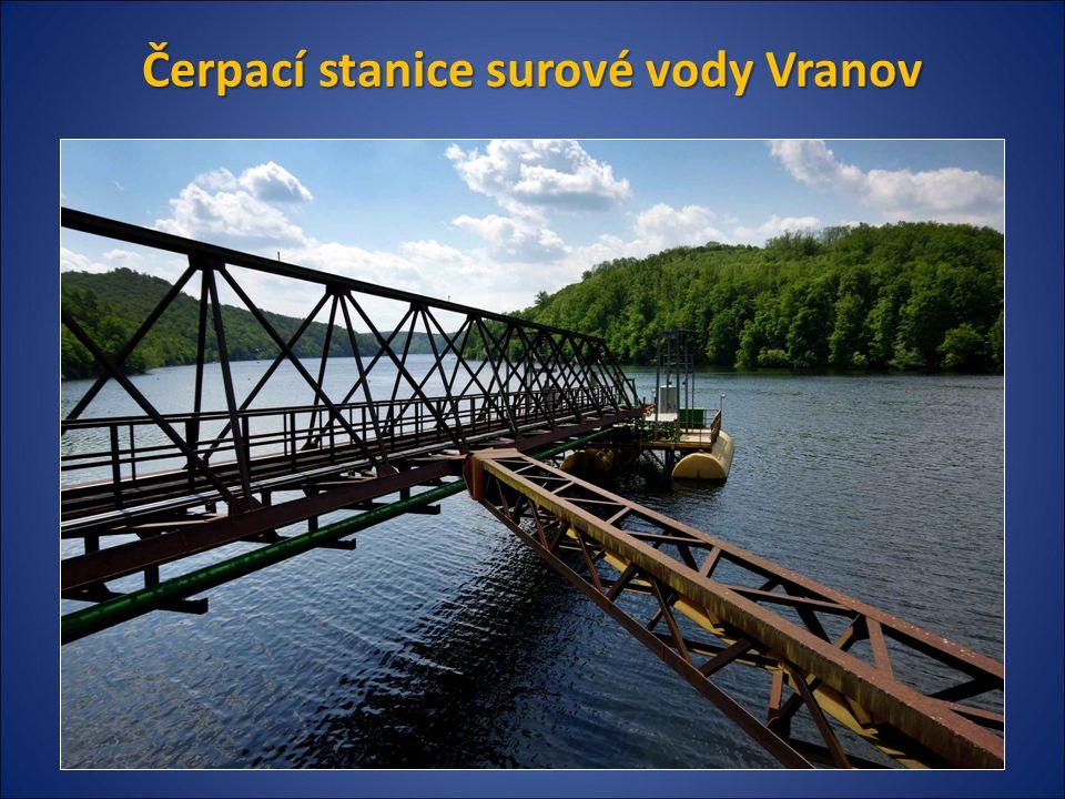 Čerpací stanice surové vody Vranov