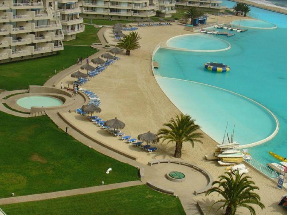 Chile se tak může pochlubit největším plaveckým bazénem světa