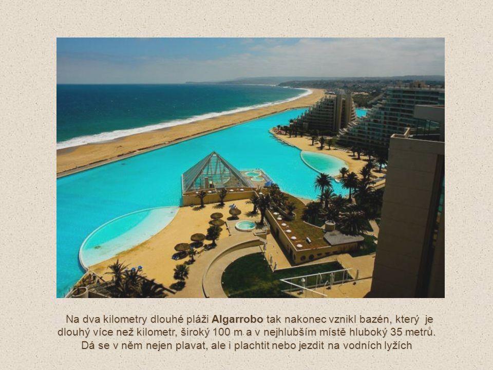A spotřebovává stejné množství chemických produktů a energie jako typický bazén olympijské velikosti !