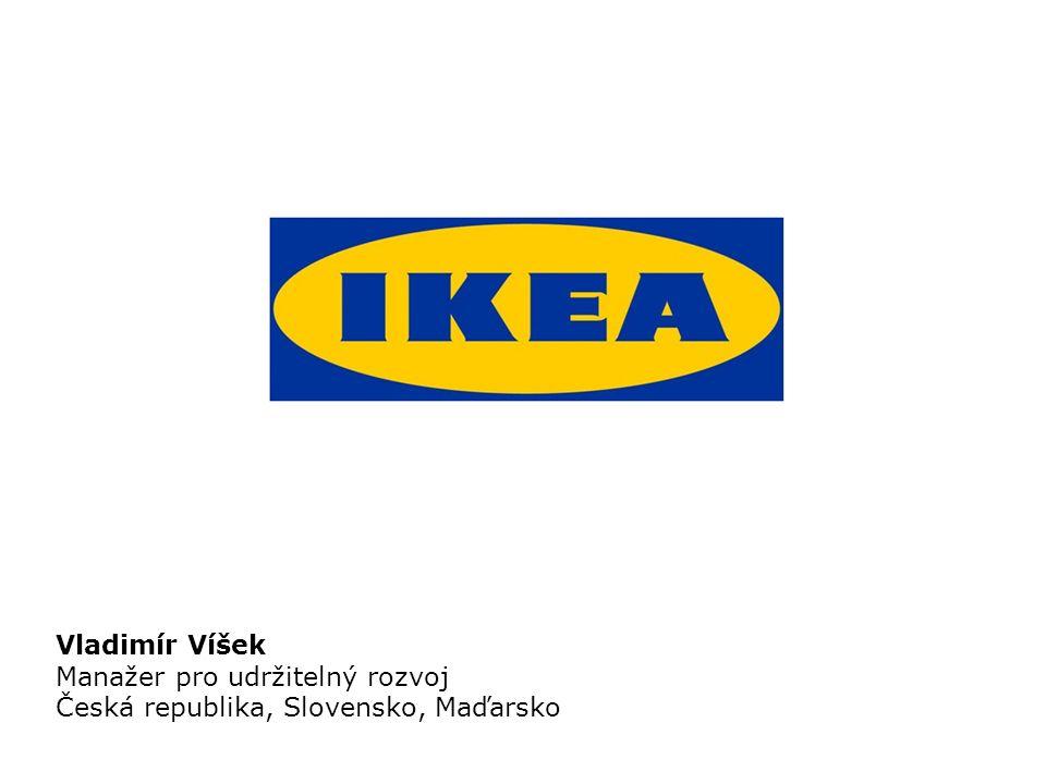 Vladimír Víšek Manažer pro udržitelný rozvoj Česká republika, Slovensko, Maďarsko
