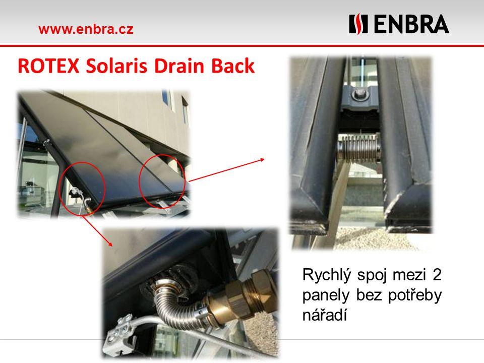 www.enbra.cz ROTEX Solaris Topná soustava se solárním systémem ohřívající TV a podporou vytápění