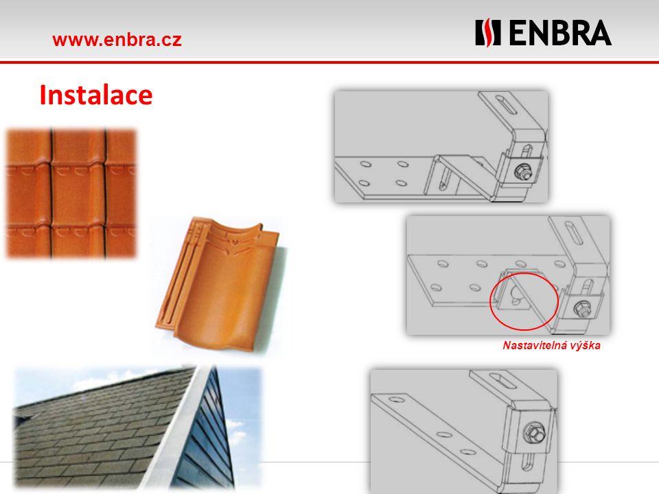 www.enbra.cz ROTEX Heat distribution Instalace hlinkové konstrukce pro všechny typy střech včetně integrace